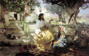 Maria dan Martha | Pelayanan semiradsky christ martha maria 1