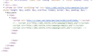 Website Error, Script Injection oleh Tel*** Code 4