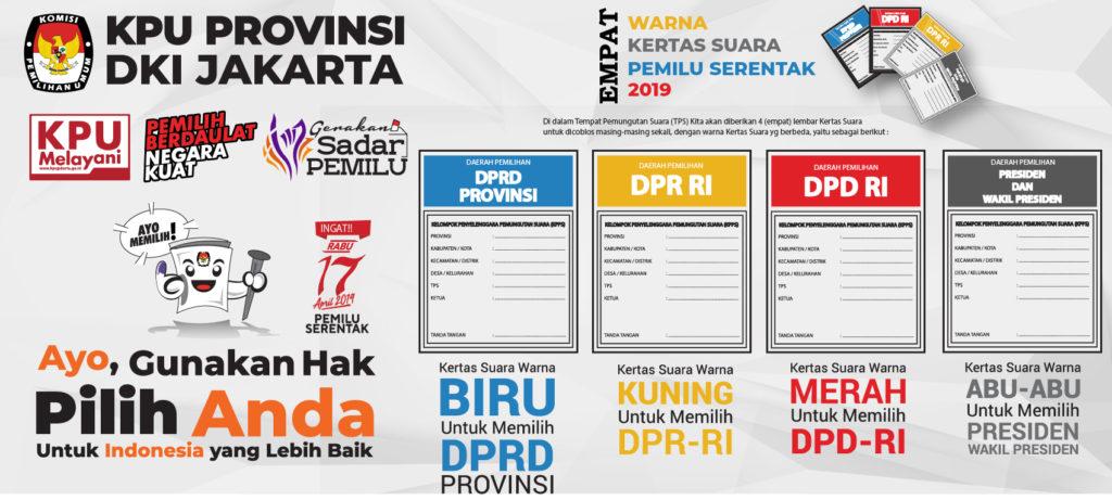 Surat Suara Pemilu 2019 DKI Jakarta