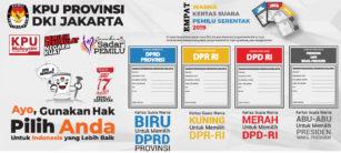 Surat Suara Pemilu 2019 DKI