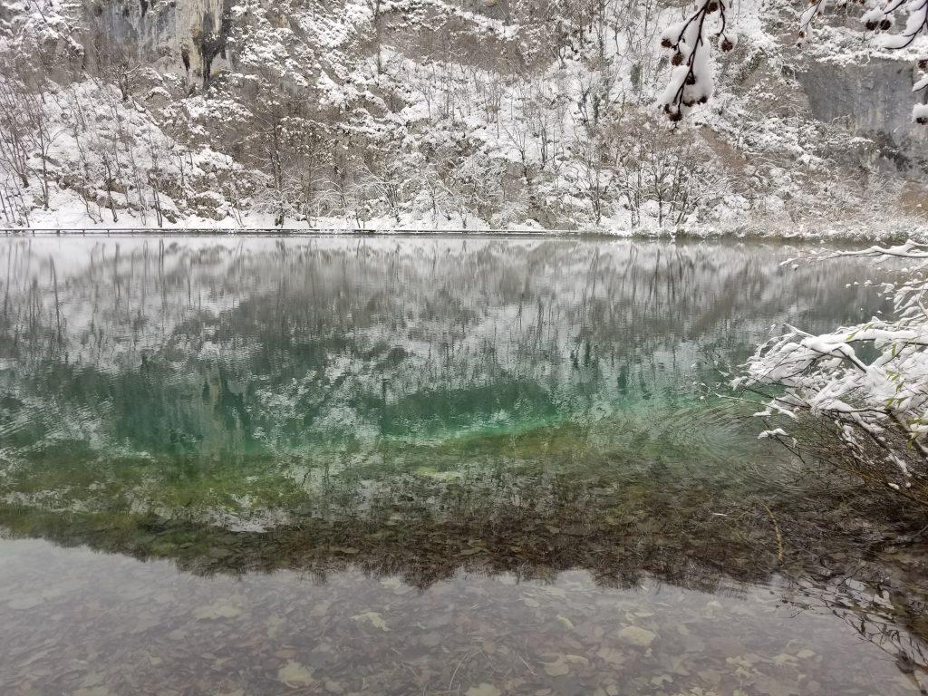 Salju di Plitvice Lake, Kroasia Plitvice Lake Winter Snow Croatia 3 8