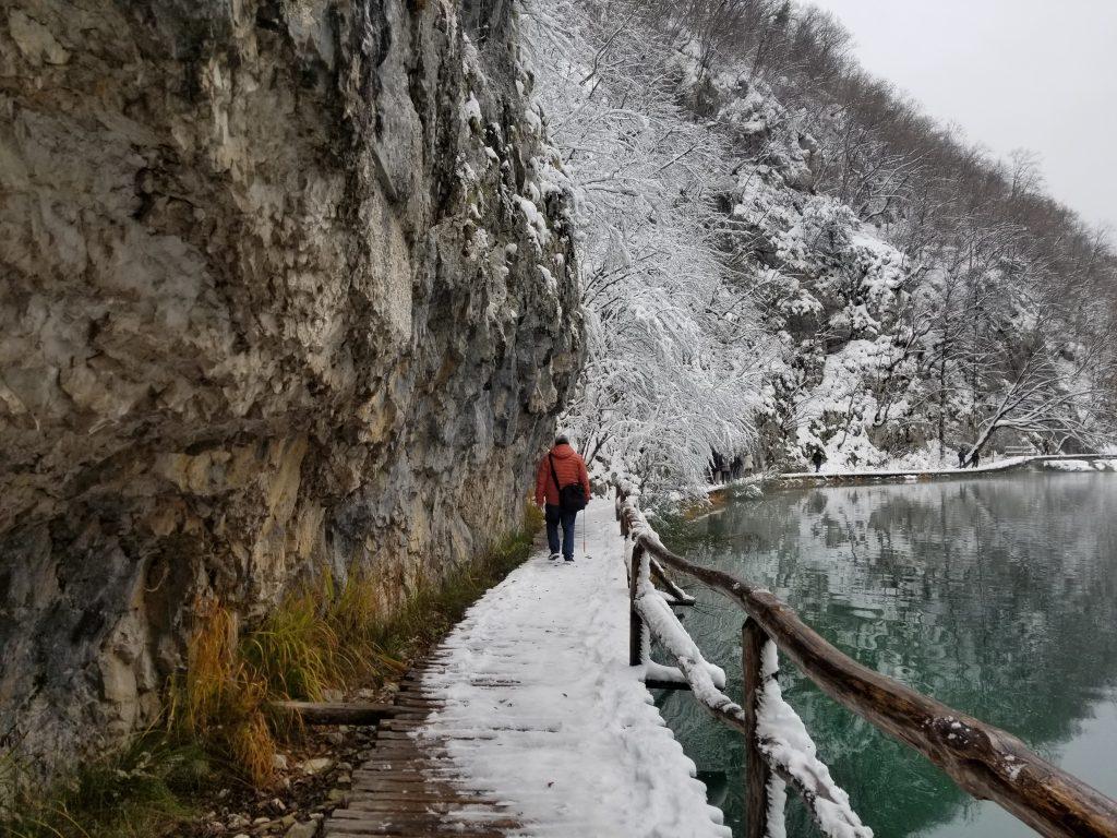 Salju di Plitvice Lake, Kroasia Plitvice Lake Winter Snow Croatia 5 4
