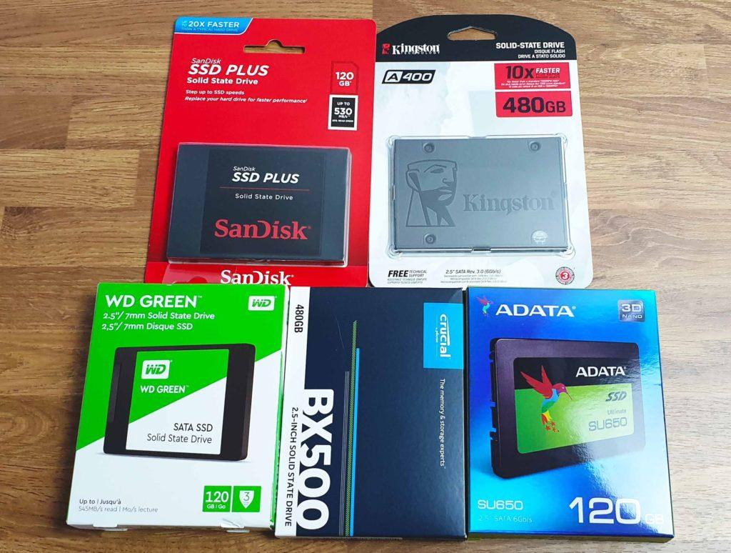 Perbandingan Memilih SSD 120GB Murah dan Bagus Perbandingan SSD Herwin 1