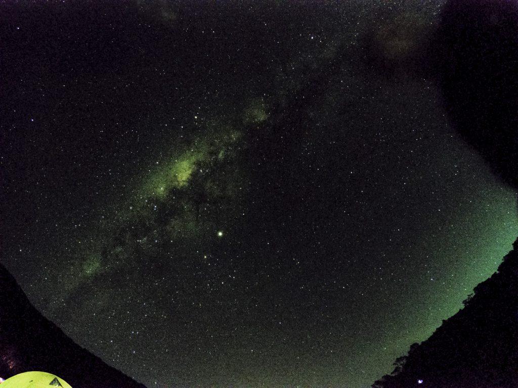 Milkyway dari Surya Kencana Gunung Gede