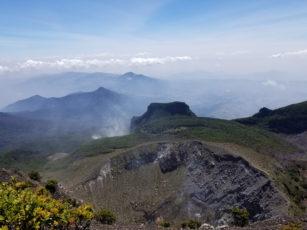 Pendakian Gunung Gede: Putri Lintas Cibodas - Persiapan (1/3) Puncak Gunung Gede 25 Aug 2019 1