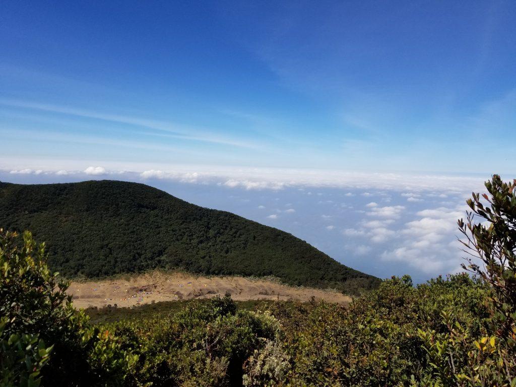 Surya Kencana Dari Puncak Gunung Gede