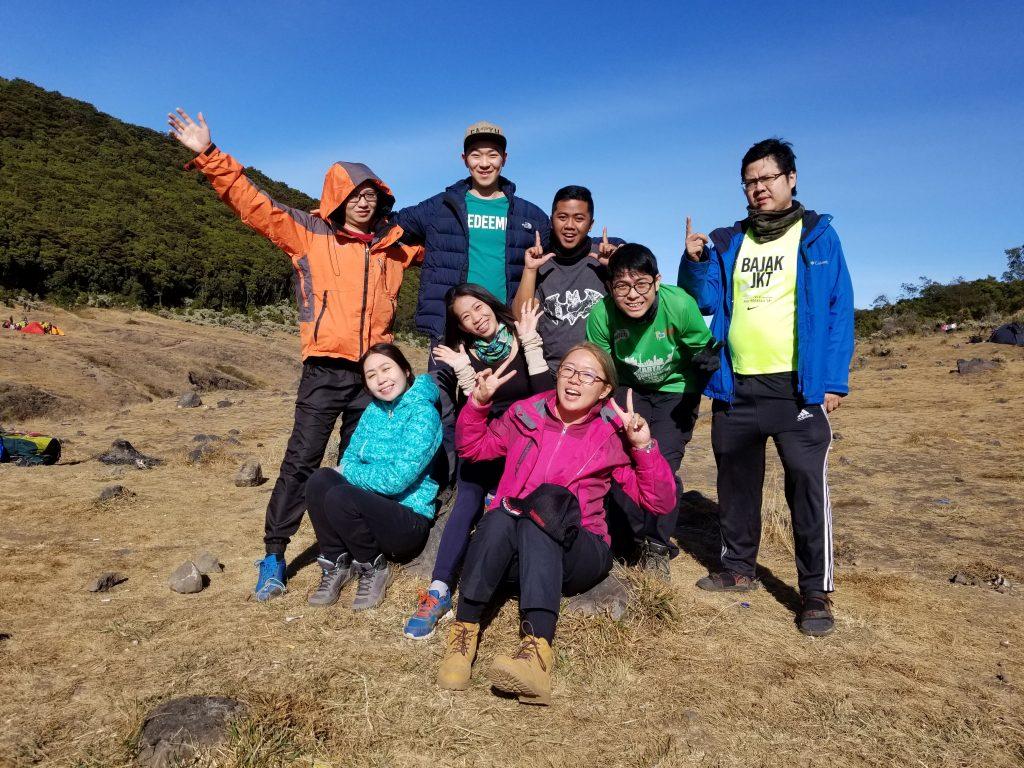 Team Pendakian Gunung Gede 23-25 Agustus 2019
