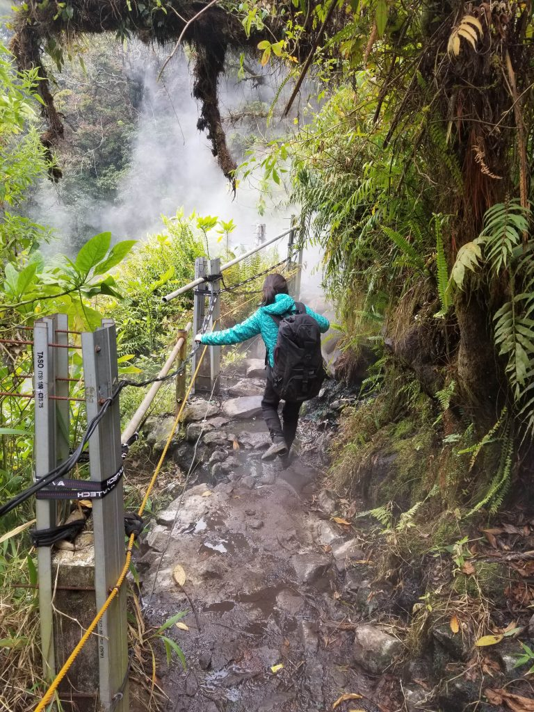 Track Air Panas - Cibodas, Gunung Gede