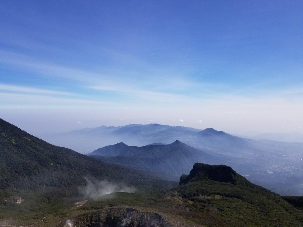 View Dari Puncak Gunung Gede