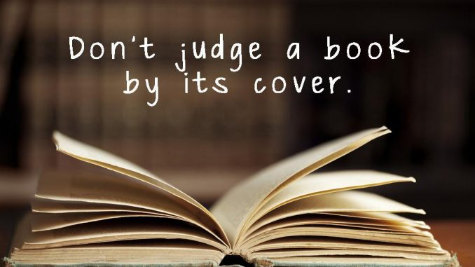 Don't Judge A Book by Its Cover? Don't Judge a Book by Its Cover 1
