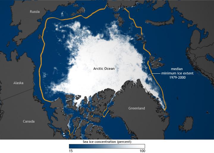 Es Kutub Utara Habis Es Kutub Utara Hilang 1