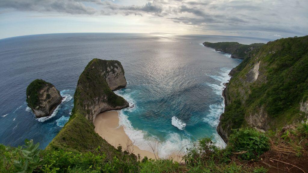 Kelingking Beach, Nusa Penida - Oleh Herwin.