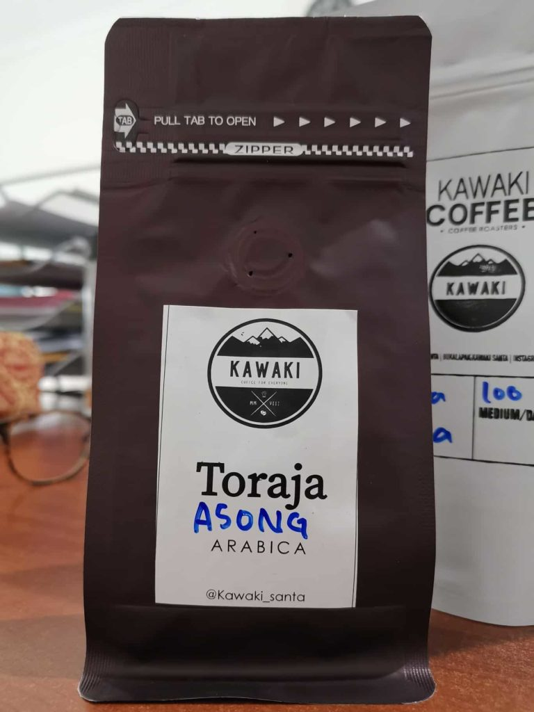 Kawaki Coffee: Toraja Asong