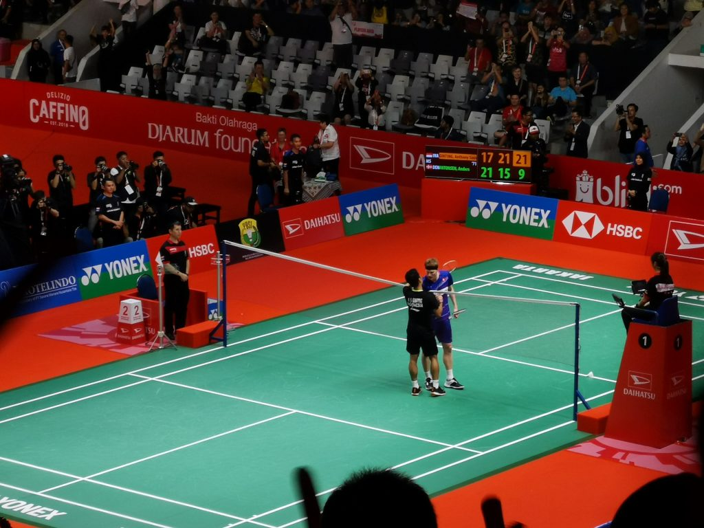 Tunggal Putra, Final Badminton Indonesia Master 2020