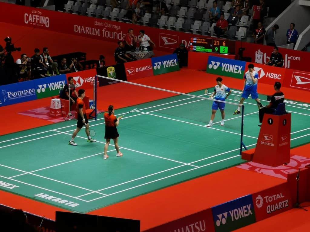 Ganda Campuran, Final Badminton Indonesia Master 2020