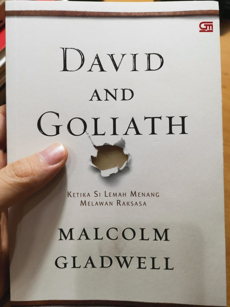 David and Goliath, Buku Pertama di 2020 Herwinlab
