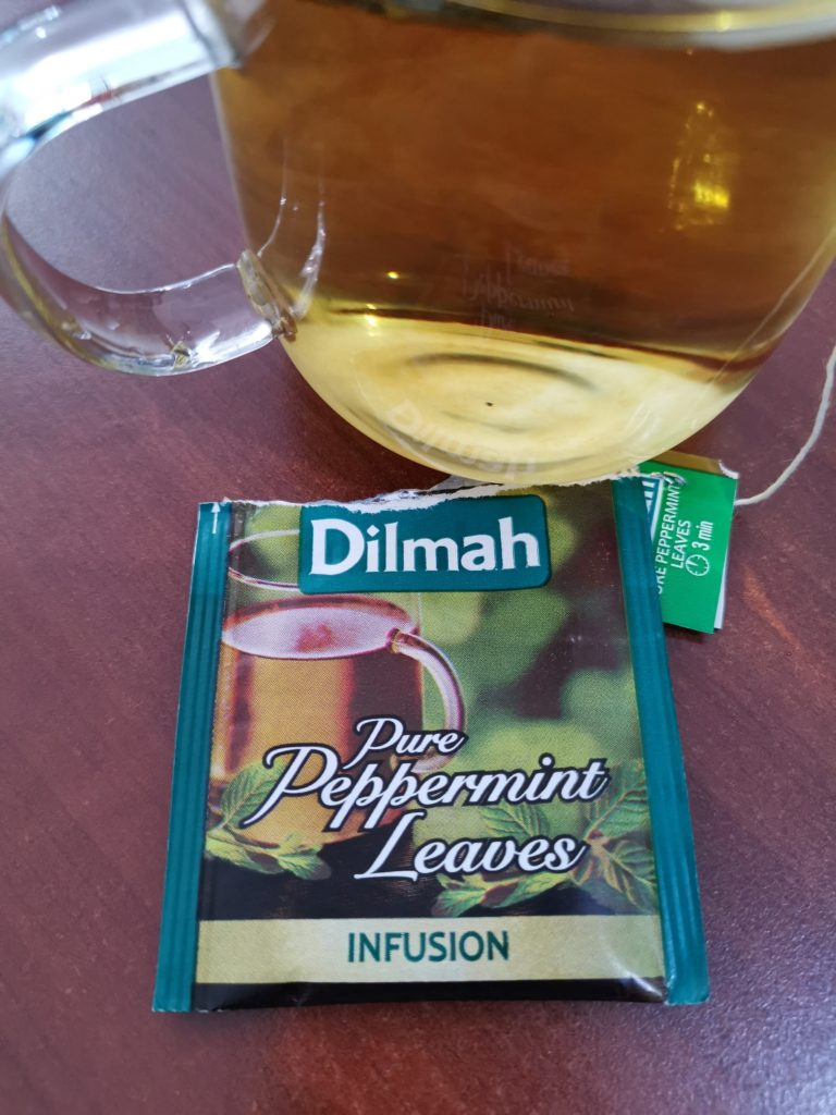 Peppermint Tea, Teh Peppermint