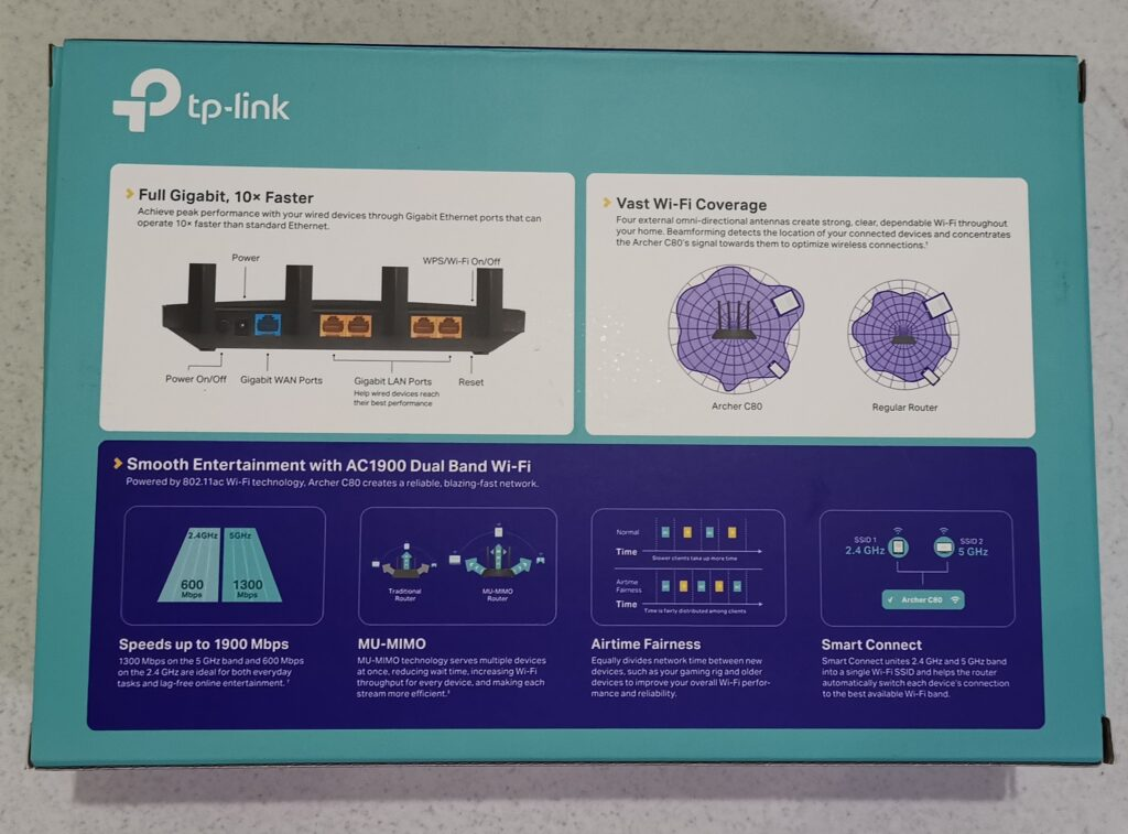 Review Router TP-LINK Archer C80 Spek HerwinLab