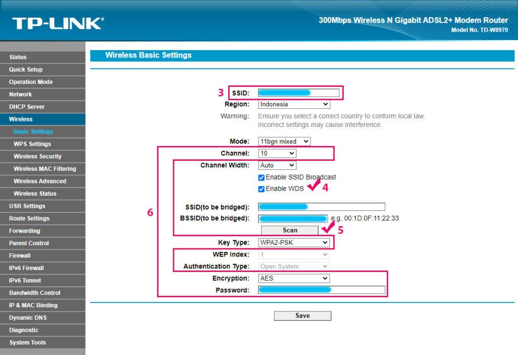 WDS Birdge Router TP-LINK