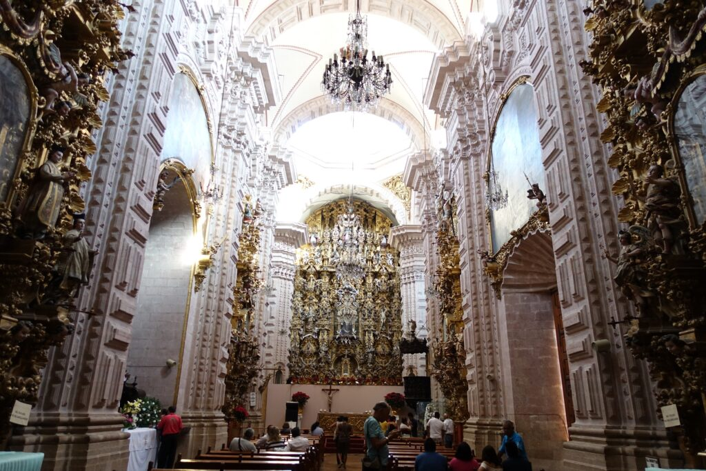 Gereja Santa Prisca, Taxco, Mexico