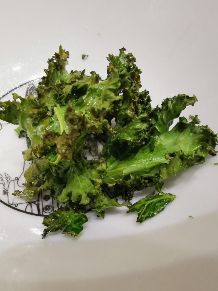 Kale Chips  Air Fryer Garing