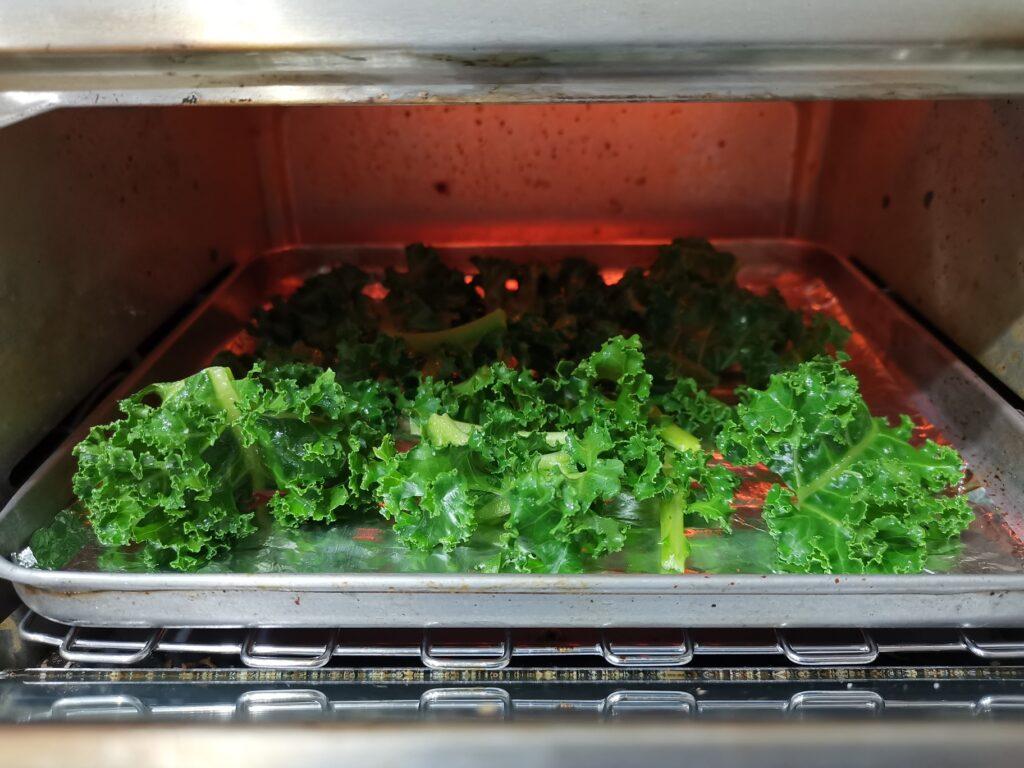 Kale Chips Panggang Oven