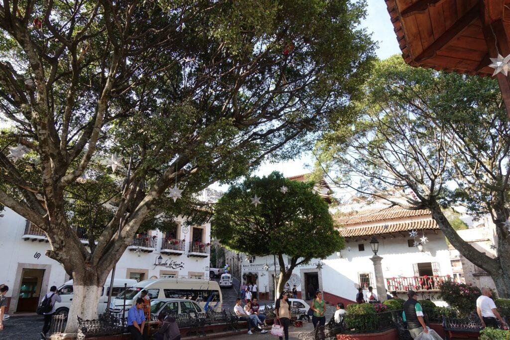 Taxco, Mexico, Alun-Alun