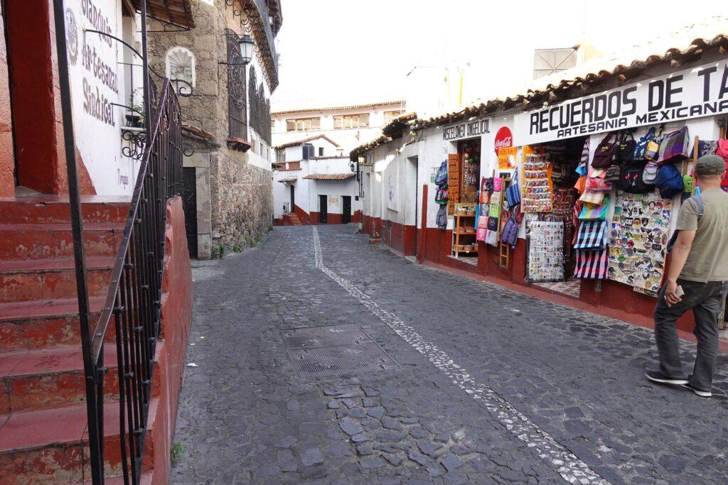 Taxco, Mexico, Arsitektur Jalanan