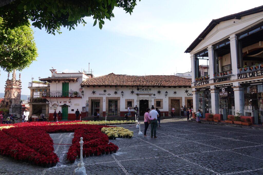 Taxco, Mexico, Plaza